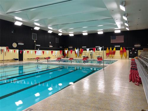 picture of current East High School pool area
