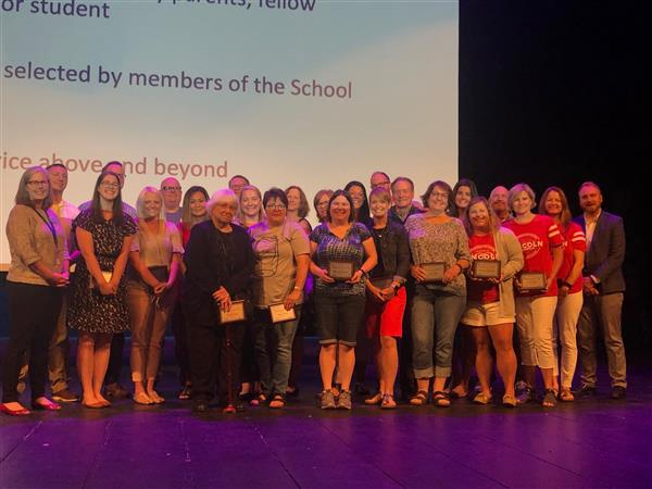 WSD Honors 22 Distinguished Service Award Recipients During Opening Day Convocation