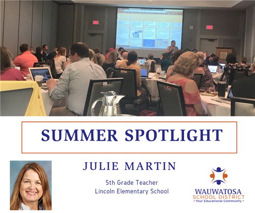 julie martin summer spotlight