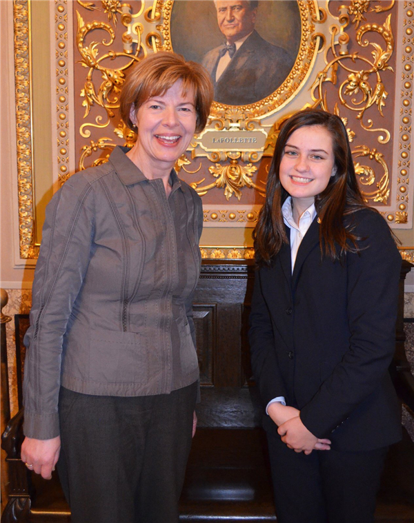 Wauwatosa East High School student named delegate to U.S. Senate Youth Program
