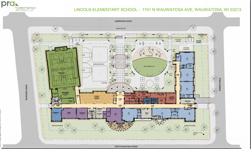 Lincoln Site Plan