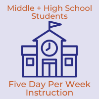 Middle and High School Students to Begin Five-Day-Per-Week In-Person Instruction on March 2, 2021