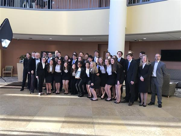 Update West And East High School S We The People Teams Headed To National Finals
