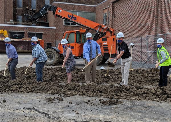 Groundbreaking Ceremony Held at Wilson/WSTEM Elementary School